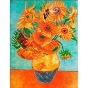 Diamond Dotz Diamond Embroidery Facet Art Kit 160cm x 70cm -Sunflowers