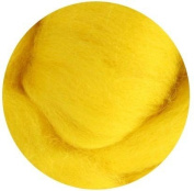 NZ Corriedale Wool Roving for Felting - 30ml Yellow