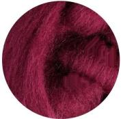 NZ Corriedale Wool Roving for Felting - 30ml Raspberry