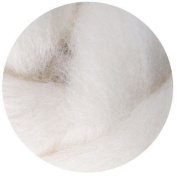 NZ Corriedale Wool Roving for Felting - 30ml Offwhite