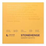 Stonehenge Pad Warm White 8X8 15 Sheets