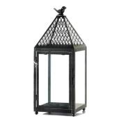 Black Bird Iron Lantern (L)
