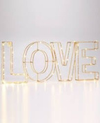 """Holiday Lane Starry """"Love"""" Led Words"""