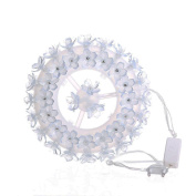 Decor Lights Foutou 87 LED Tyre String Lights Waterproof Party Wedding Garden Outdoor Christmas