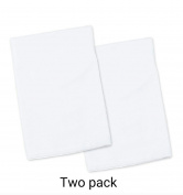 My Best Buddy Toddler Pillowcase- White-two pack