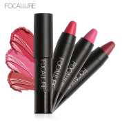 XILALU Long-lasting Red Velvet Matte Colour Pencil Lipstick Crayon Makeup Set