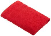 Martex 100-Percent Egyptian Cotton Loops Hand Towel, Engine Red