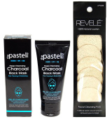 the Pastel doys Deep Cleansing Peel Off Charcoal Black Mask - Pore Cleaning and Moisturising 50g / 50ml WITH