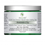 100% Pure Premium Natural Indian Healing Clay; Bentonite Clay