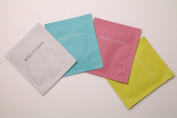 Beauty Pops Facial Sheet Mask Set - Pink (Moisture) White(Brightening) Blue(Soothing) Yellow (Rejuvenating)
