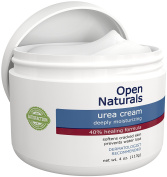 Open Naturals Urea 40% Repair Cream - Premium Callus Remover - Moisturises, Softens and Rehydrates Thick, Cracked, Rough, Dead and Dry Skin to a Healthy Appearance - Advanced Healing Formula - 120ml