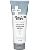 Dr. Foot Cracked Heel Cream. Cream for cracked heels, rough spots, and dry feet. 240ml tube.