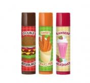 Lip Smacker Best Flavour Forever Cheeseburger, Sweet Potato Fries, Strawberry Milkshake