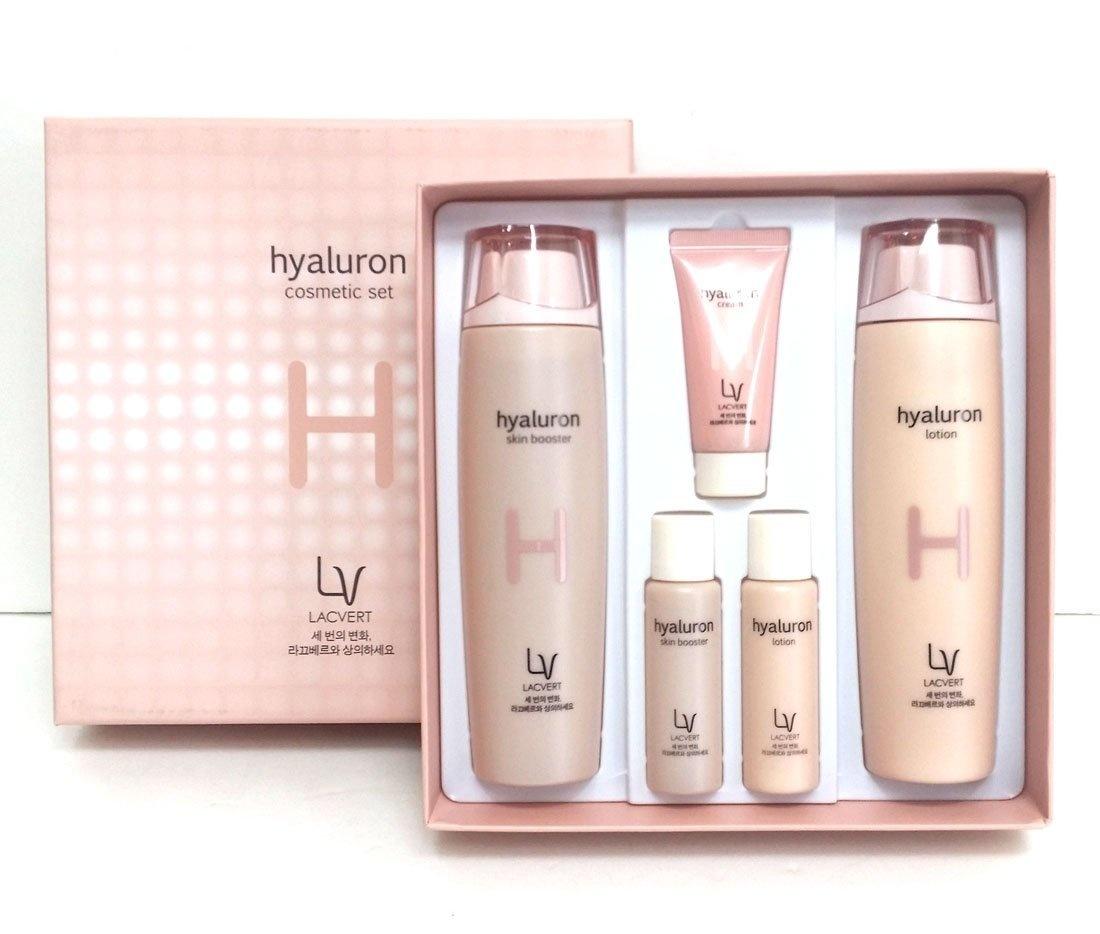 79c584bcdd68 [Lacvert] LV Hyaluron Cosmetic 2pc Set / moisture, elasticity / Korean  Cosmetics