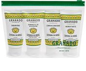 Linha Terrapeutics (Castanha do Brasil) Granado – Mini Kit (Sab Liquido, Hidratante, Shampoo eCondicionador) 4 x 50 Ml – Brazilian Nut