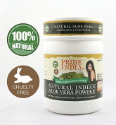 Pride Of India - Indian Aloevera Herbal Hair & Skin Conditioning Powder, Half Pound, 100% Natural