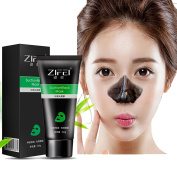 MY LITTLE BEAUTY Suction Black Mask Blackhead Remover Deep Cleansing Peel Off Black Mask Active Charcoal Tearing Face Mask