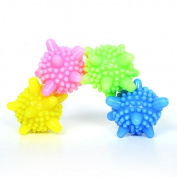 6 Pcs Solid Reusable Colourful Machine Washing Ball Laundry Ball Washing Ball