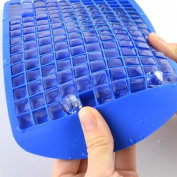 Malloom Mini Frozen Ice Cube Silicone Tray Mould 160 Ice Cube Maker Kitchen Tools
