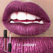 Hot Lipsticks! AMA(TM) Waterproof Makeup Liquid Moisturising Lipstick Long Lasting Metallic Diamond Lip Gloss Cosmetic