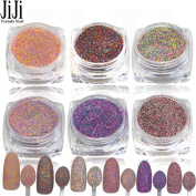 1.5g Optional Nail Art Glitter Beauty Dust Powder 3D Tips Sugar Manicure Tools Dazzling Nail DIY Pearl Tips Decor 525-530