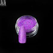 Trendy Nail 1g Nail Art Glitters Laser Noble Purple Sequins Powder Dust Manicure for DIY Nail Polish YG02
