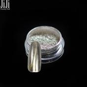 1 Bottle 1g Mirror Nail Glitter Powder Dust + 1pc Brushes DIY 3D Mirror Effect Nail Art Tip Decoration Tools Gel UV Polish 1