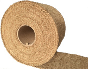 Burlapper 10cm x 20 Yards Jute Burlap Ribbon Roll, 350ml Decorator Fabric