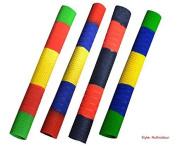 Anti-Slip Cricket Bat Rubber Grips Replacement Handle Grips Multi- Coloured Design