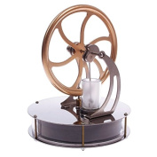 RUNGAO Low Temperature Stirling Engine Motor Model Cool No Steam Education Model Toy Kits