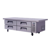 Atosa 190cm Commercial 4 Drawer Refrigerated Chef Base MGF8454