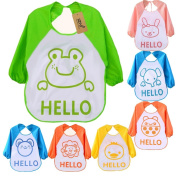 iZiv 7 PACK Baby Bandana Drool Bibs Waterproof TPU Lining 0-3 Years