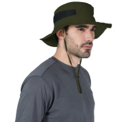 Outdoor Boonie Sun Hat - UPF 50 Protection for Men & Women. Wide Brim Summer Hat. Waterproof for Fishing, Hiking, Camping, Boating & Outdoor Adventures. Breathable Nylon & Mesh