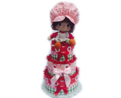 Strawberry Shortcake Toy Red and Pink Nappy Cake
