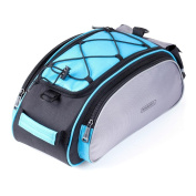 Docooler Outdoors 13L Cycling Bicycle Frame Rack Back Pack Multifunctional Seat Cargo Bag