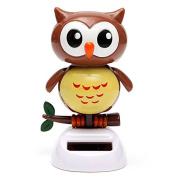 Generic Solar Power Motion Toy Owl Dancing