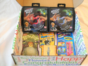 "Magical Toy Fun Surprise with 2 Bright Bugz + 3 Kool Toys in an ""ALL OCCASION"" Gift Box"