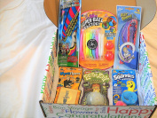 "Magical Toy Fun Surprise with 6 Super! Toys in an ""ALL OCCASION"" Gift Box"