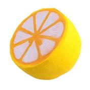 Generic Jumbo Slow Rising Squishy Lemon Toy Slow Rising Hand Wrist Toy Random Colour