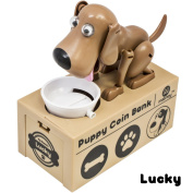 Matney Dog Piggy Bank - Robotic Coin Toy Money Box - English Speaking - Great Gift for Any Child