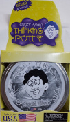LIQUID GLASS Large 10cm Crazy Aaron's Thinking PuttyCrystal CLEAR PUTTY silly toy Transparent NEW For Ages 3+
