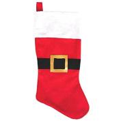 Amscan Festive Christmas Santa Suit Stocking Party Decoration, 46cm , Multicolor