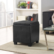 Essential Home Lidded Storage Ottoman