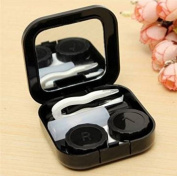 Actopus Portable Cute Travel Contact Lens Case Eye Care Kit Holder Mirror Box