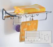 CH Bathroom Towel Rack, Stainless Steel Towel Rack, Folding Towel Rack Bathroom towel rack
