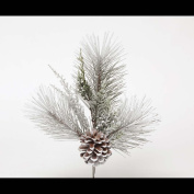FAUX MONTREAL PINE PIK WITH PINECONE AND ICE