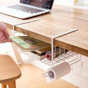 Home-organiser Tech Under Cabinets Shelf Basket Rack Shelf Storage Organisation Basket