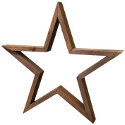 Jillibean Soup Mix The Media Shaped Wooden Frame-36cm Dark Star