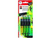Marabu Art Crayon Set Green Jungle