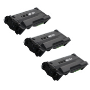 3 Pack UniVirgin Compatible Replacement for Brother TN-880 TN880 High Yield Toner Cartridge – Black colour, 12,000 pages
